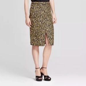 Who what wear leopard pencil skirt NWT sz 8 , 2